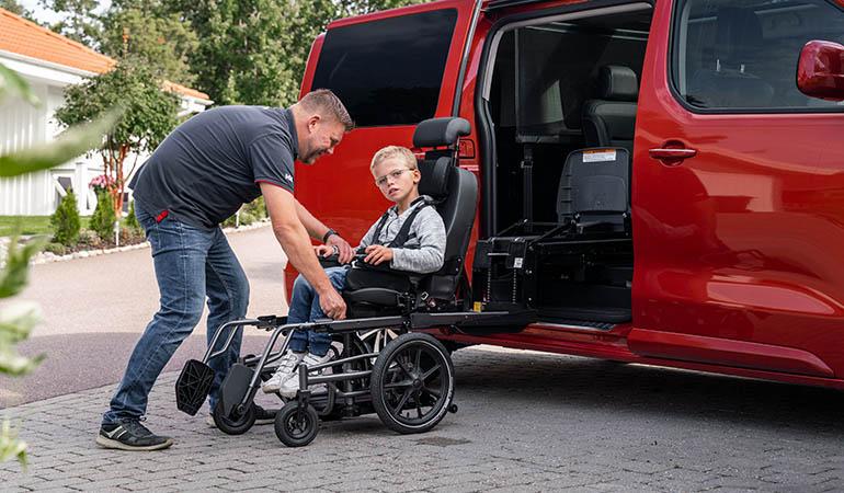 adaptacje samochodu do przewozu osób niepełnosprawnych